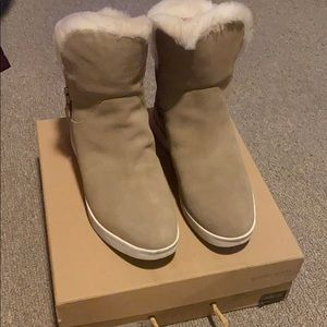 Gentle soles Fur lined Sneaker Bootie